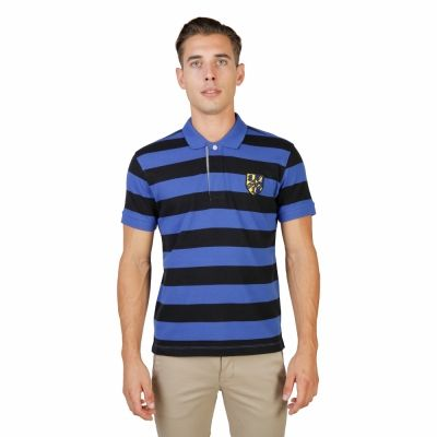 Tricouri polo Oxford University TRINITY-RUGBY-MM Negru