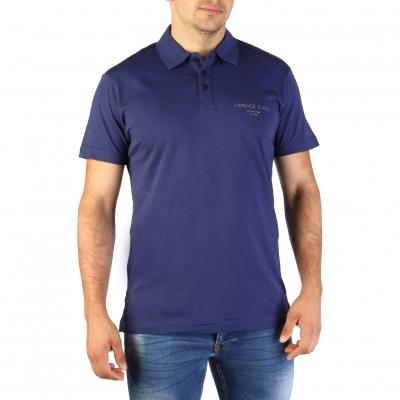 Tricouri polo Versace Jeans B3GTB7P7_36610 Albastru
