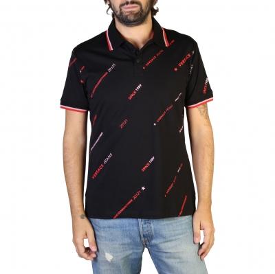 Tricouri polo Versace Jeans B3GTB7P8_36610 Negru
