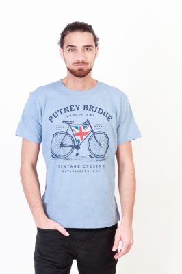 Tricouri Putney Bridge PBMTS017 Albastru