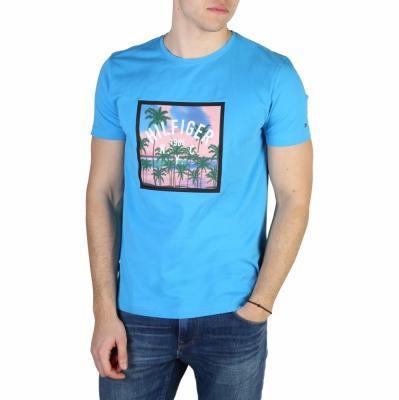 Tricouri Tommy Hilfiger MW0MW00776 Albastru