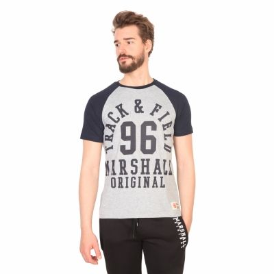 Tricouri Marshall Original TS_LINEBACKER Gri