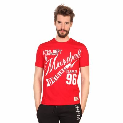 Tricouri Marshall Original TS_STORY Rosu