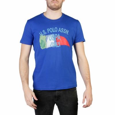 Tricouri U.s. Polo 50043_49351 Albastru