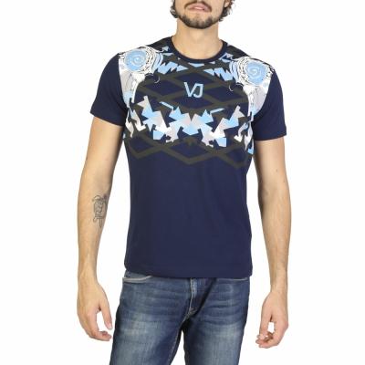 Tricouri Versace Jeans B3GRA74G36619 Albastru