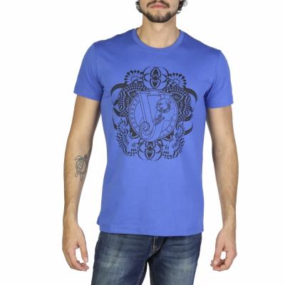 Tricouri Versace Jeans B3GRB75A36610 Albastru