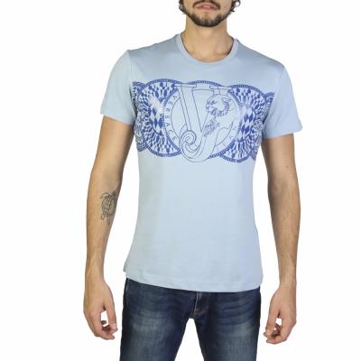Tricouri Versace Jeans B3GRB75D36610 Albastru