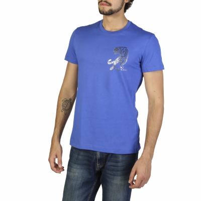 Tricouri Versace Jeans B3GRB75J36610 Albastru