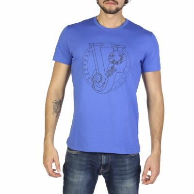 Tricouri Versace Jeans B3GRB75K36610 Albastru