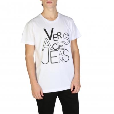 Tricouri Versace Jeans B3GSB71G_36609 Alb