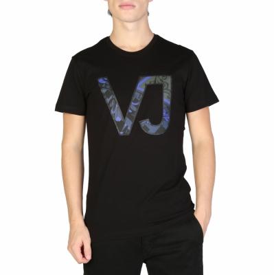 Tricouri Versace Jeans B3GSB73D_36598 Negru