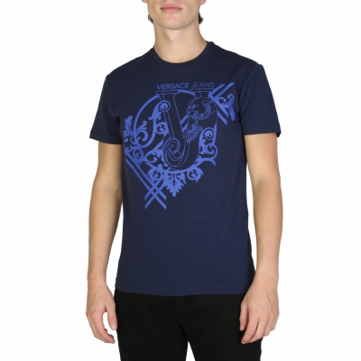 Tricouri Versace Jeans B3GSB74G_36643 Albastru