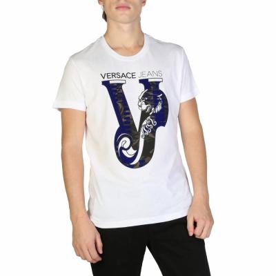 Tricouri Versace Jeans B3GSB75C_36591 Alb