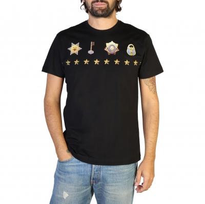 Tricouri Versace Jeans B3GTB71A_30134 Negru