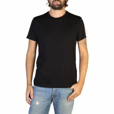 Tricouri Versace Jeans B3GTB71F_30134 Negru