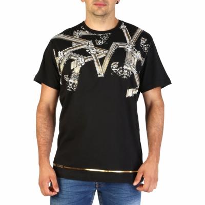 Tricouri Versace Jeans B3GTB72D_36609 Negru