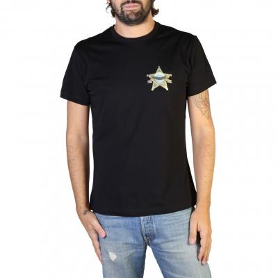 Tricouri Versace Jeans B3GTB73D_36598 Negru