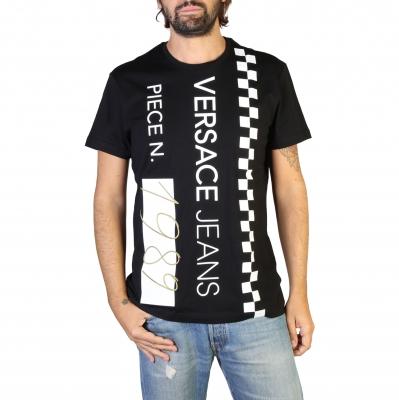 Tricouri Versace Jeans B3GTB74B_36590 Negru