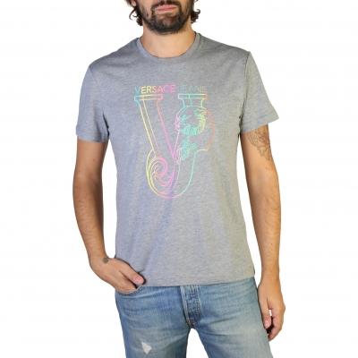 Tricouri Versace Jeans B3GTB74C_36590 Gri