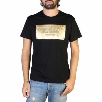 Tricouri Versace Jeans B3GTB74D_36590 Negru