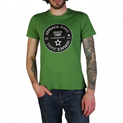 Tricouri Versace Jeans B3GTB76J_36610 Verde