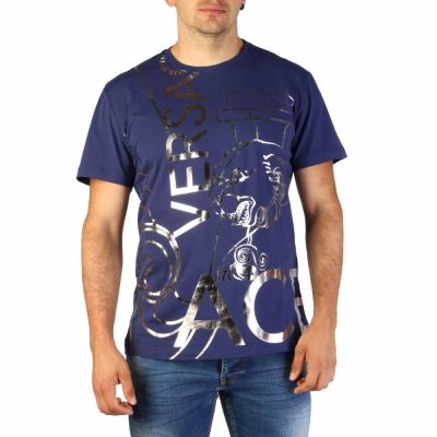 Tricouri Versace Jeans B3GTB76O_36620 Albastru