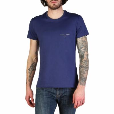 Tricouri Versace Jeans B3GTB76R_36610 Albastru