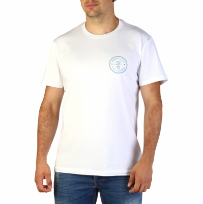 Tricouri Versace Jeans B3GTB76S_36620 Alb