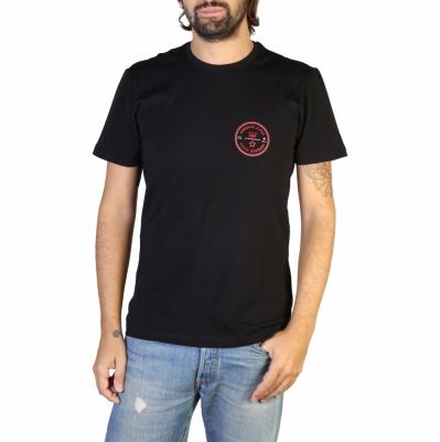Tricouri Versace Jeans B3GTB76S_36620 Negru