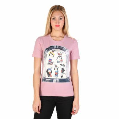 Tricouri Moschino W_4_F14_10_E_1512 Roz