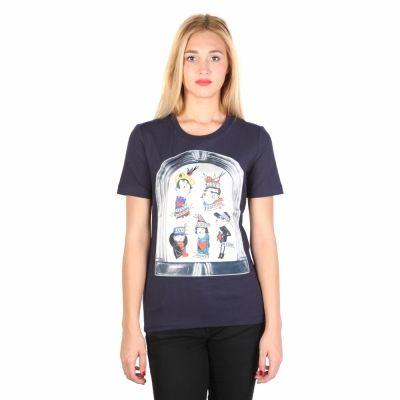 Tricouri Moschino W_4_F14_10_E_1512 Albastru