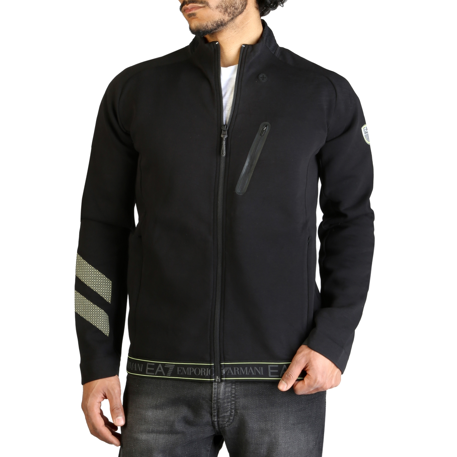 Bluze sport Ea7 3GPM19_PJT6Z Negru