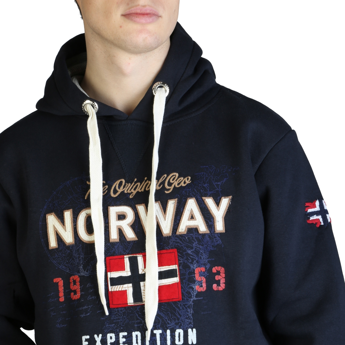 Bluze sport Geographical Norway Guitre100_man Albastru