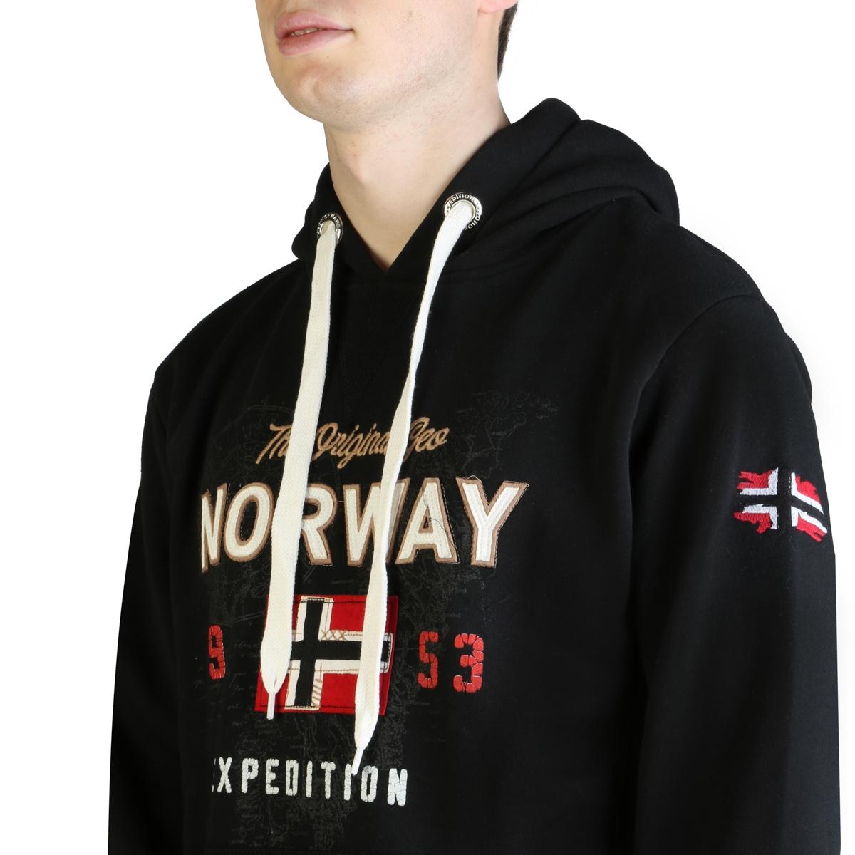 Bluze sport Geographical Norway Guitre100_man Negru