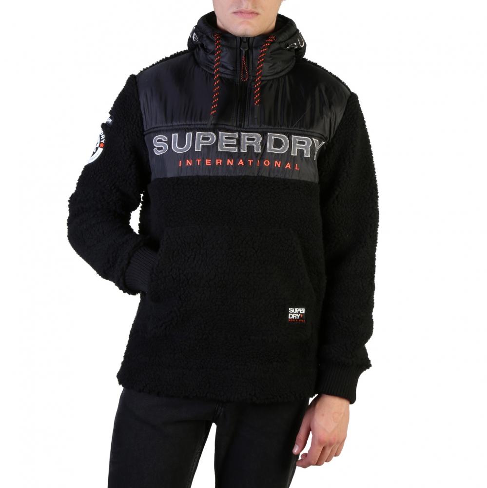 Bluze sport Superdry M2000037A Negru