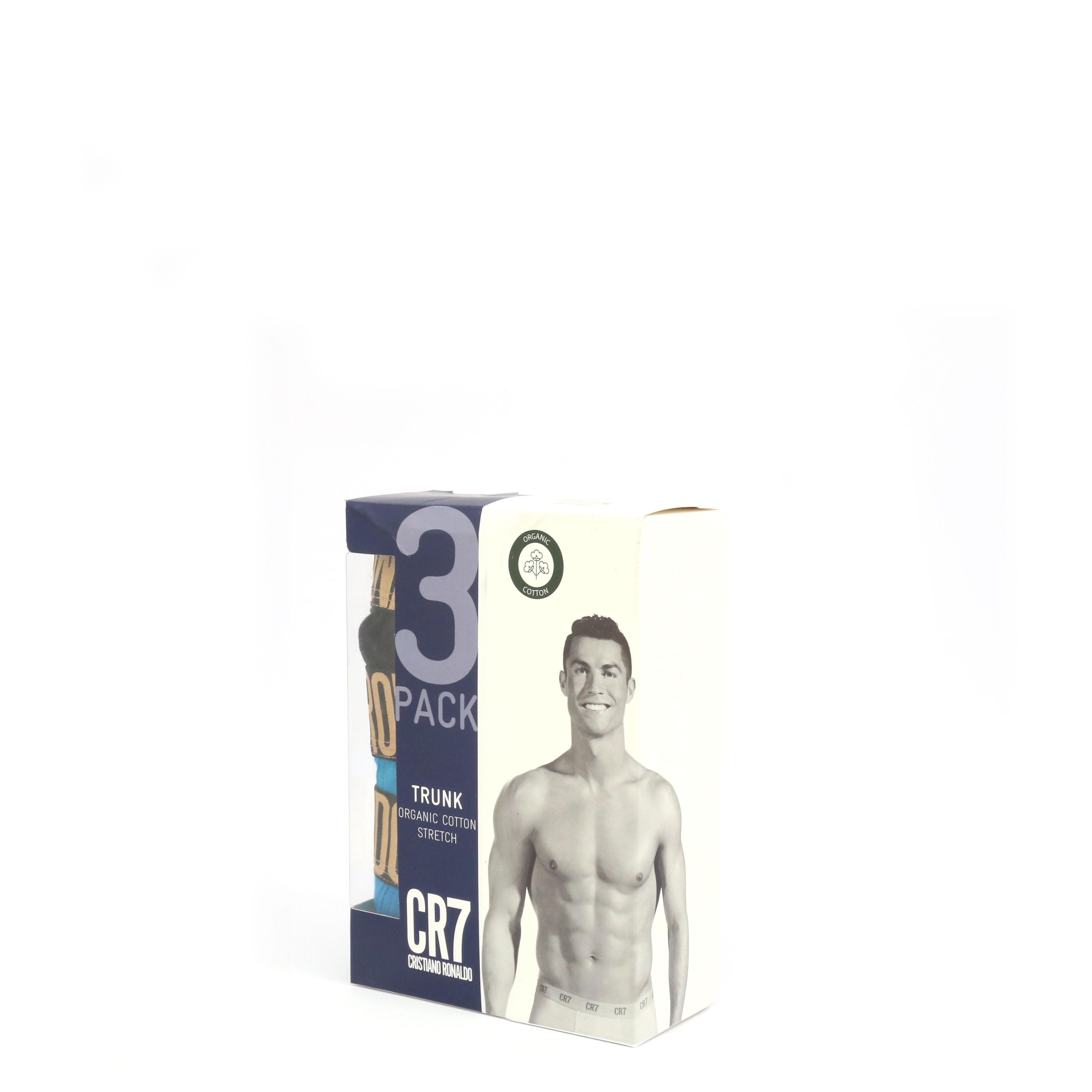 Boxeri Cr7 Cristiano Ronaldo 8100-49_TRIPACK Albastru