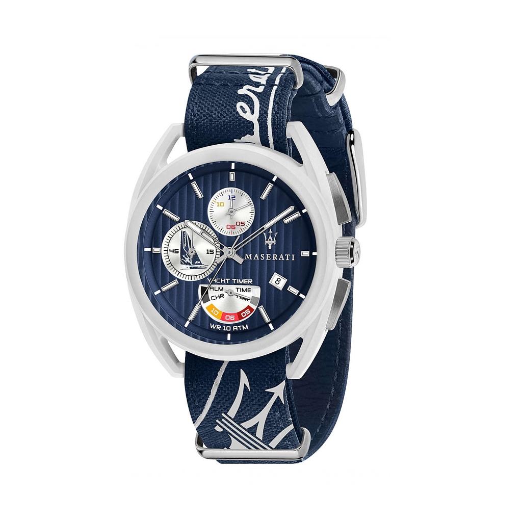 Ceasuri Maserati TRIMARANO_R8851 Albastru