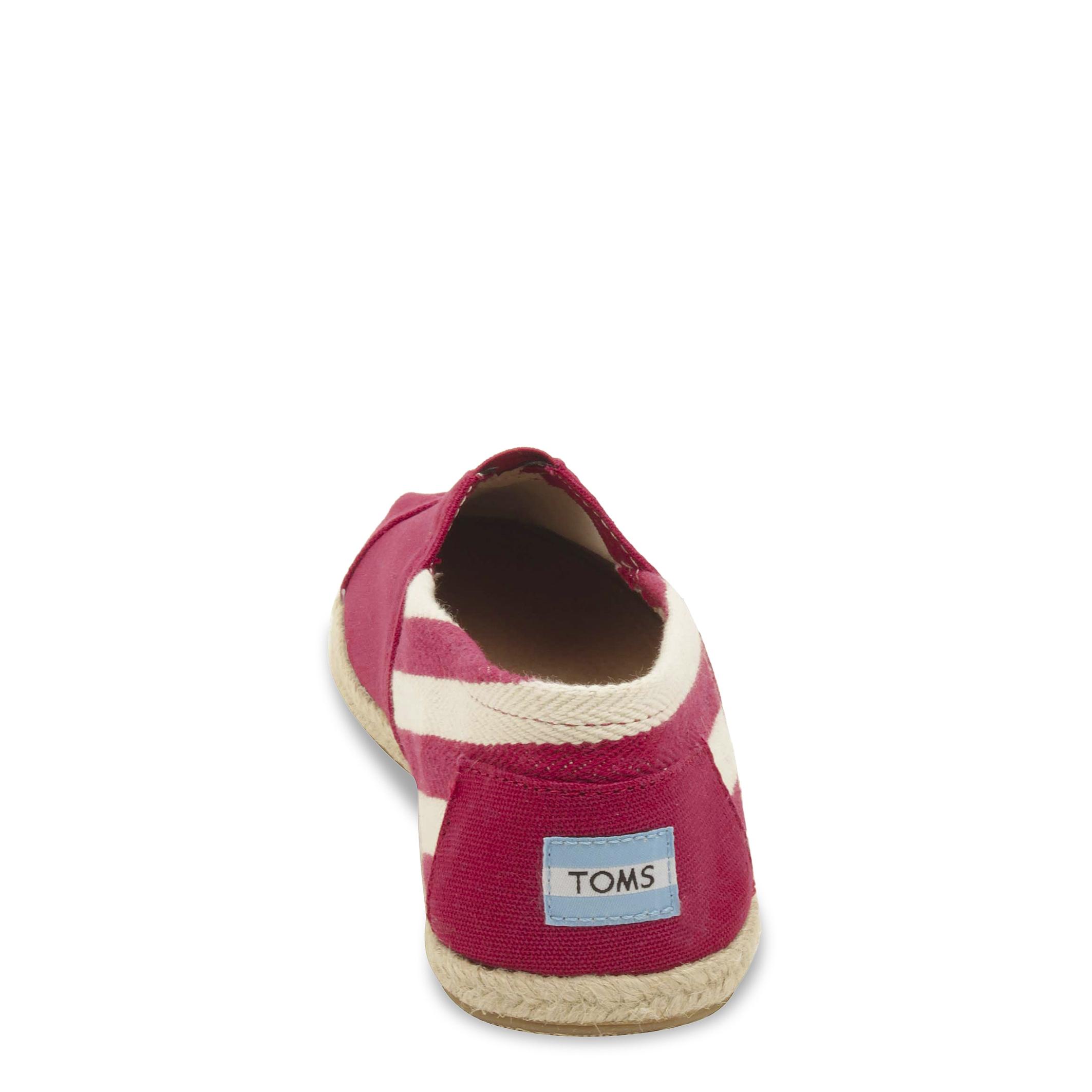 Espadrile Toms 10005420 Rosu