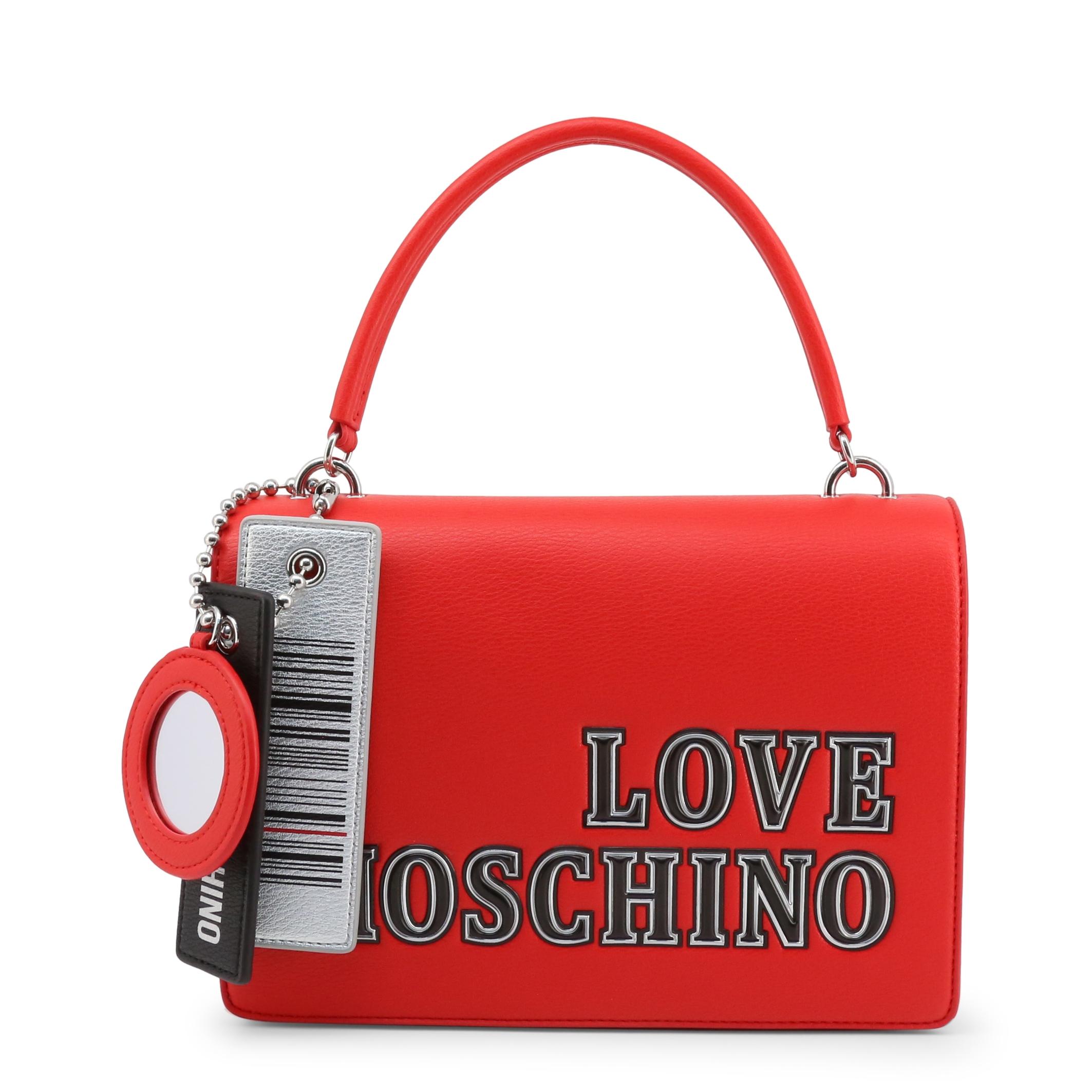 Genti de mana Love Moschino JC4238PP0BKG Rosu