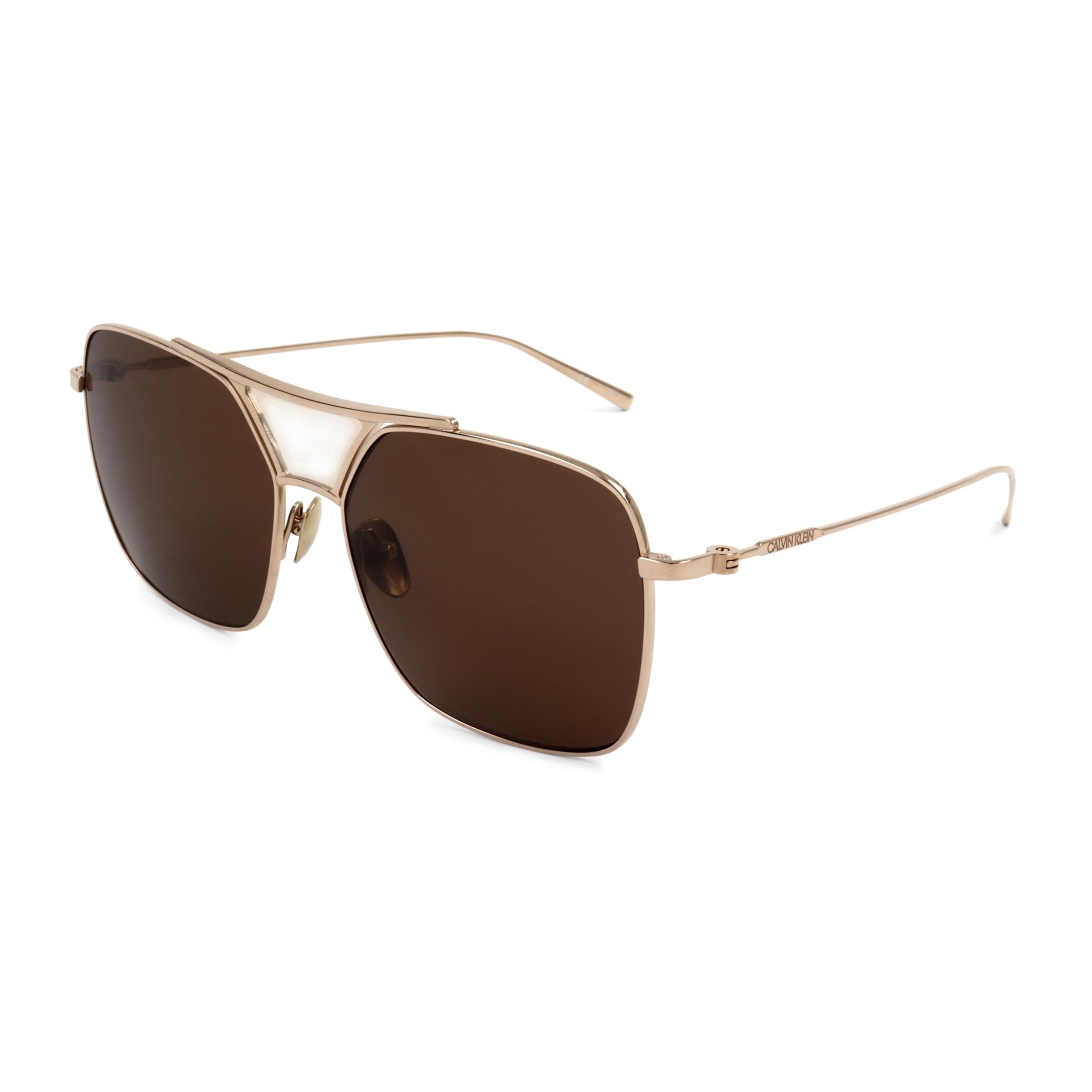 Ochelari de soare Calvin Klein CK20100S Galben