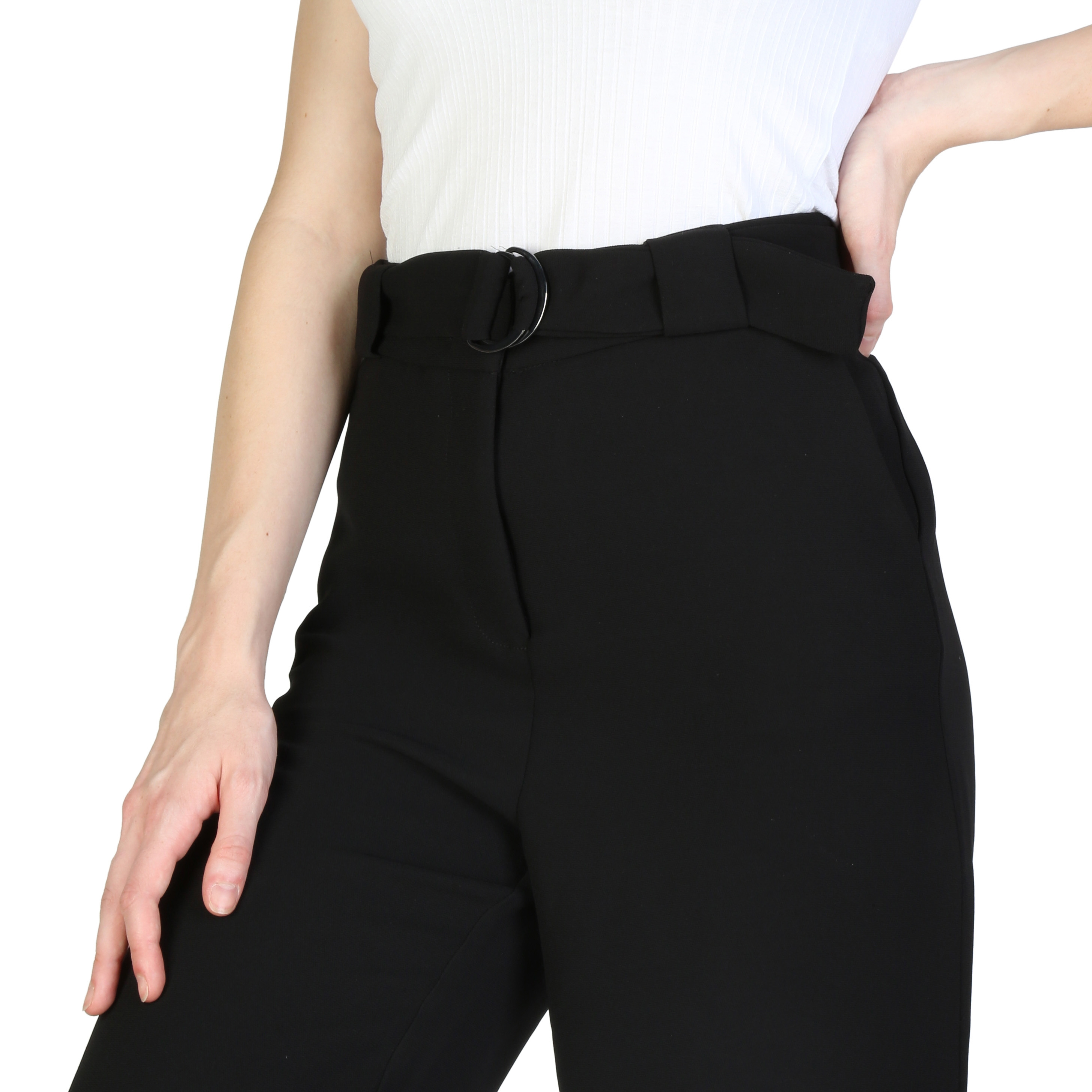 Pantaloni Armani Exchange 3ZYP26YNBRZ Negru