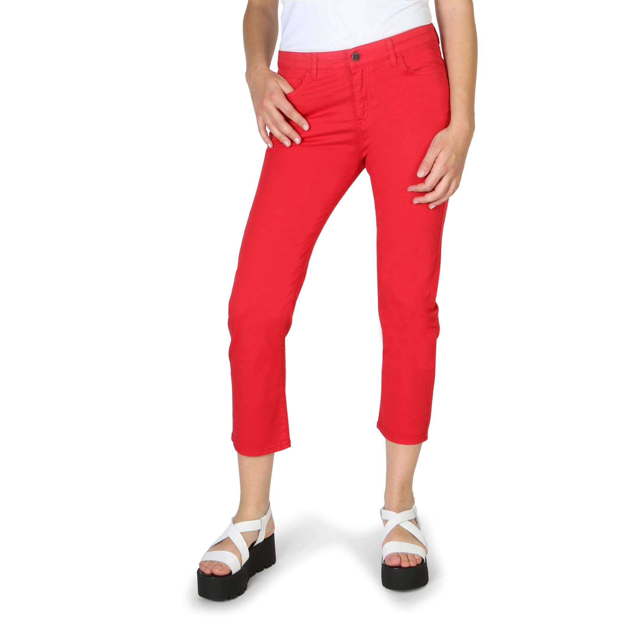 Pantaloni Armani Jeans 3Y5J10_5N18Z Rosu