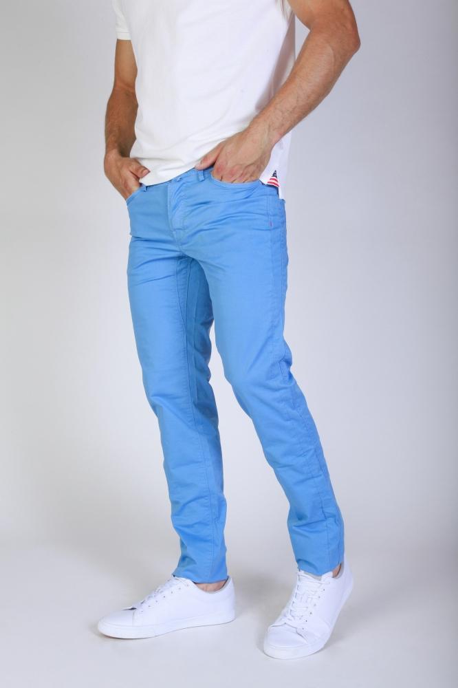 Pantaloni Jaggy J1883T812-Q1 Albastru
