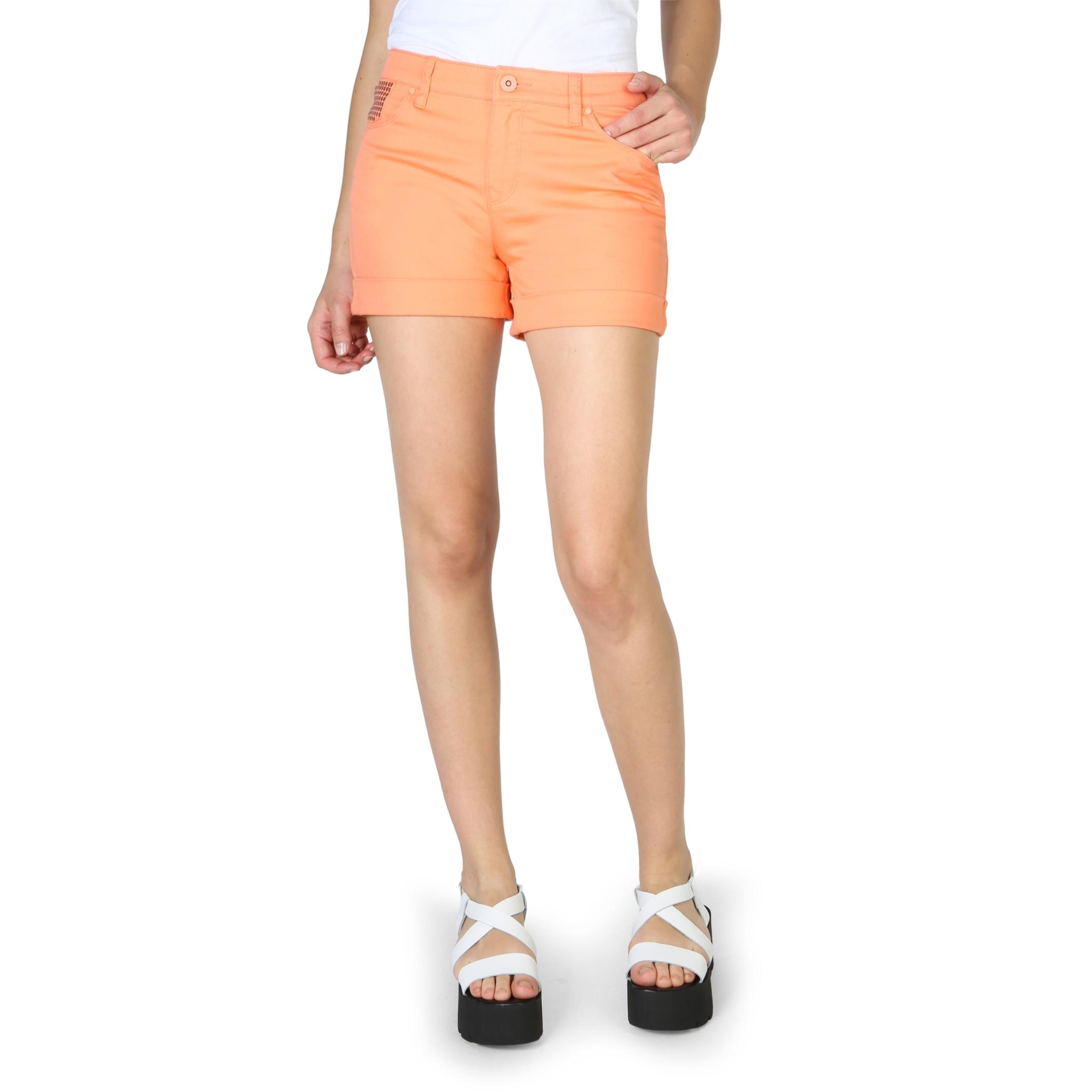Pantaloni scurti Armani Jeans C5J09_QR Portocaliu