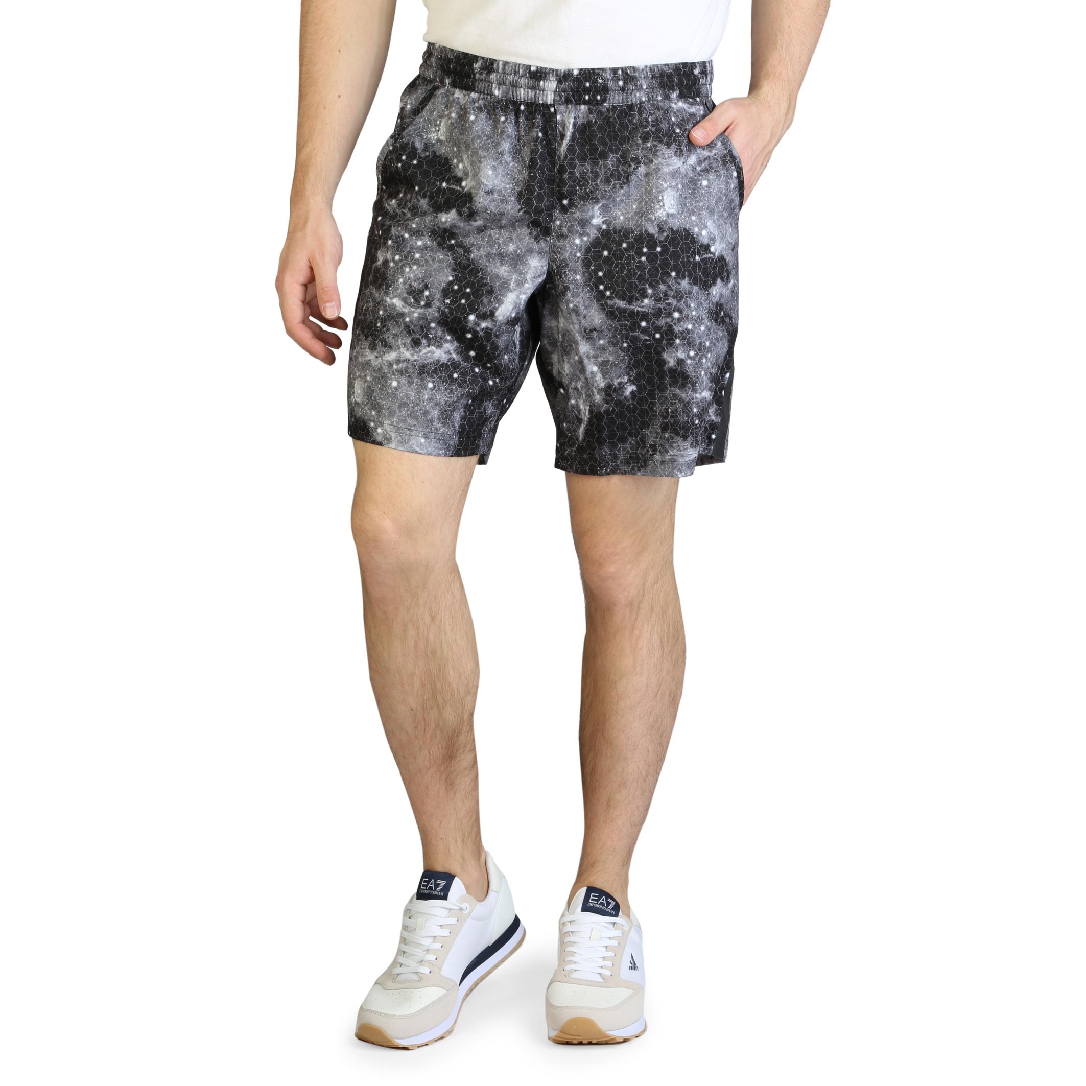 Pantaloni scurti Ea7 3GPS07_PN33Z Negru