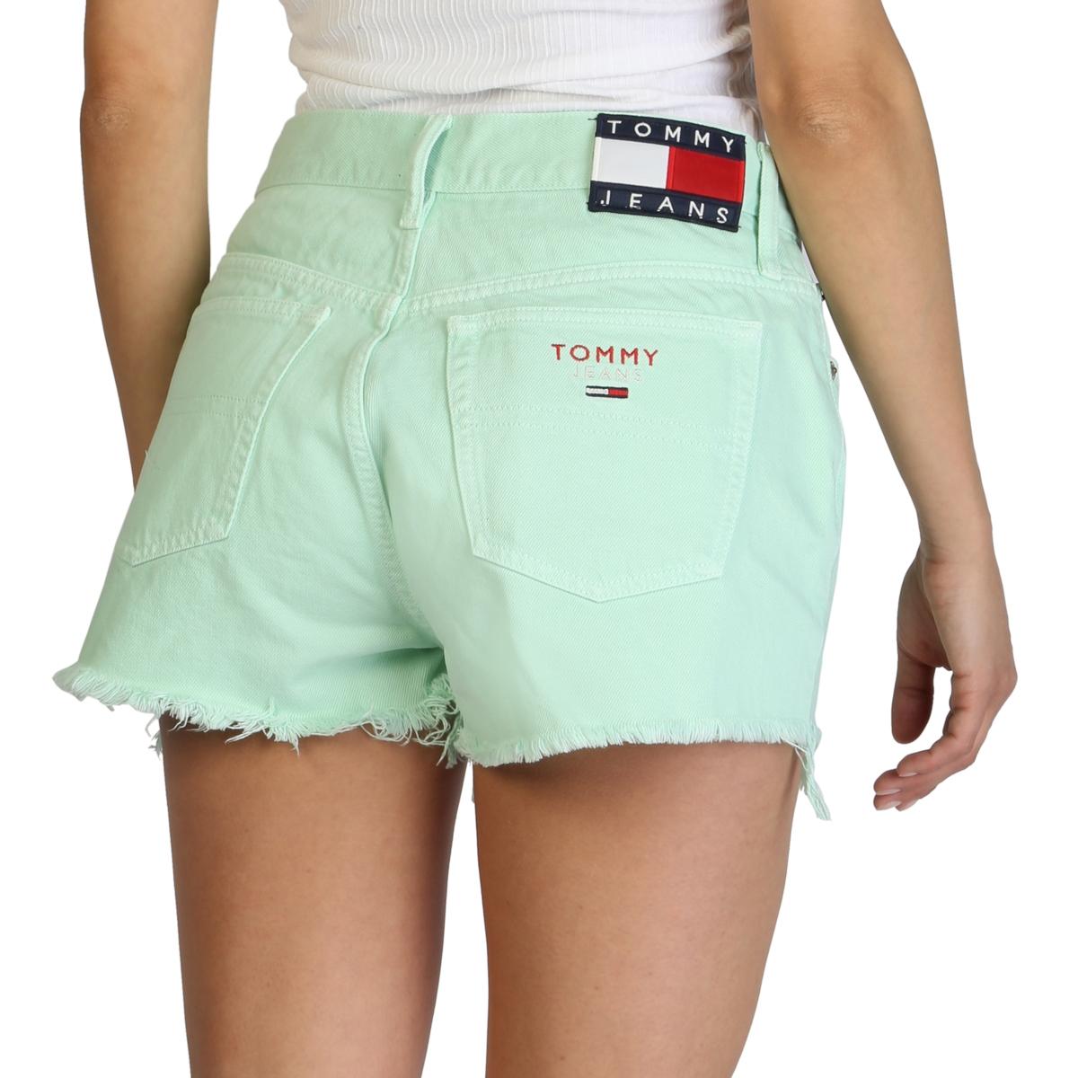 Pantaloni scurti Tommy Hilfiger DW0DW02932 Verde