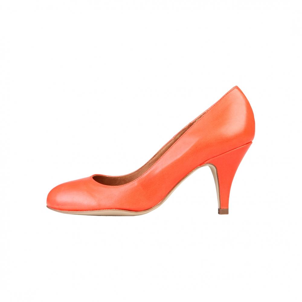 Pantofi cu toc Arnaldo Toscani 7181101 Portocaliu