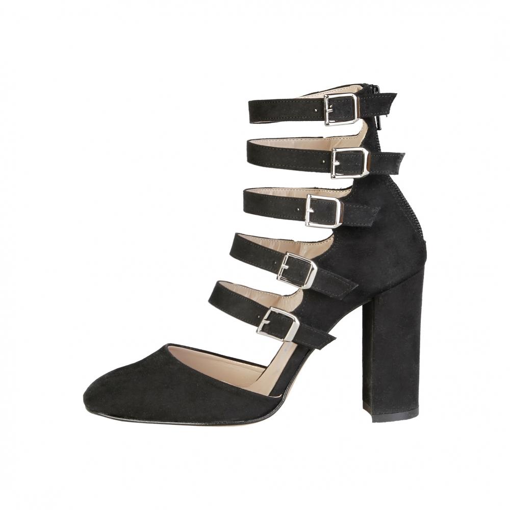 Pantofi cu toc Made In Italia CORA Negru