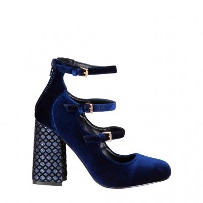 Pantofi cu toc Fontana 2.0 GIULIA Albastru