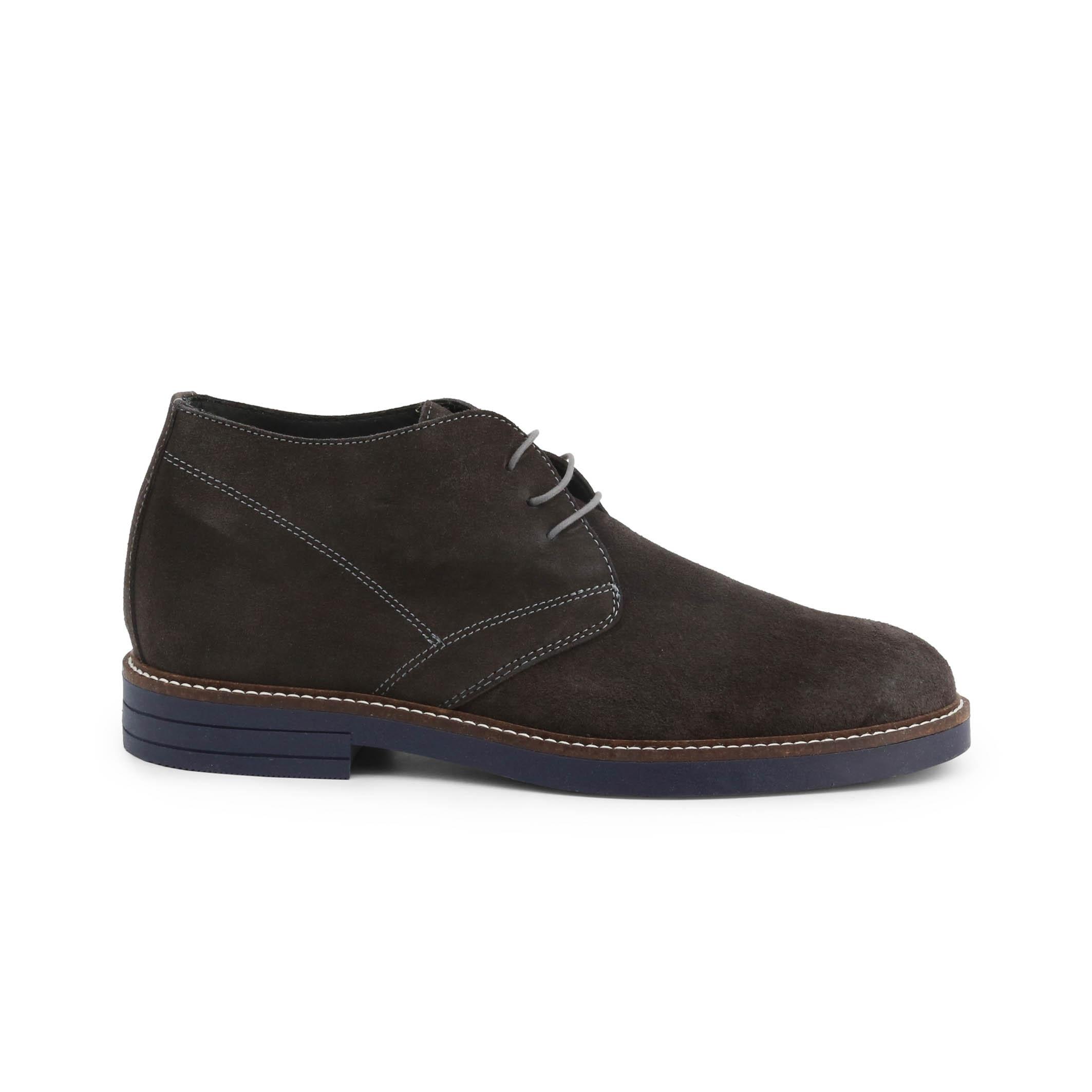 Pantofi siret Duca Di Morrone 101_CAMOSCIO Gri